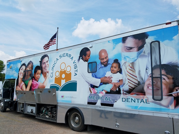 Mobile Medical Clinic Arrives To Houston To Help with Disaster